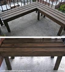 diy outdoor wood bench diy bench