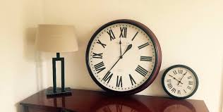 Small Picture Clock Duo GIANT Wall Clock Pottery Barn Designer Habitat John
