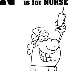 Nurse Coloring Pages Printable Nursing Coloring Pages Printable