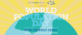 world youth alliance celebrates world population day  11 is un world population day wpd in 2014 the wpd theme is investing in young people the united nations website states as the world population