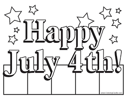 Small Picture 4th of July Coloring Pages Sheets Printable Happy 4th of July