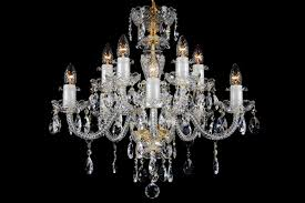 10 light classic georgian style chandelier in brass clb 10