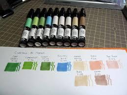 Chartpak Ad Marker Color Chart Blog Entry Alberto Flickr