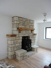 sandstone fireplaces