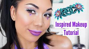 edc rave makeup tutorial 2017 jamie amos