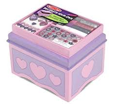 Melissa And Doug Decorate Your Own Jewelry Box Amazon Melissa Doug DecorateYourOwn Wooden Jewelry Box 1