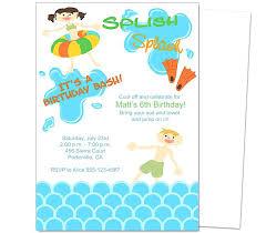 Children Birthday Party Invitations Orgullolgbt