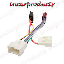 dacia duster car stereo radio iso wiring harness adaptor loom dc image is loading dacia duster car stereo radio iso wiring harness