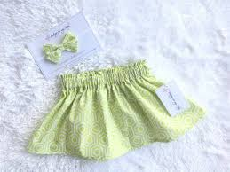 3 Month Size Chart Skirt Made From 100 Cotton Fabric Elastic Is Used In The