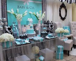 Tiffanys Party Ideas For A Baby Shower  Catch My PartyTiffany And Co Themed Baby Shower