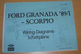 granada and scorpio online club collectibles issued 1989 by the ford motor company for use at all ford service establishments