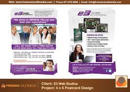 e3 solutions advertisement postcard flyer web design graphic e3 solutions advertisement postcard flyer web design graphic design marketing man multimedia