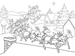 Kleurplaat Kerst Kleurplaat Kerst Slee Animaatjesnl