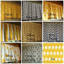 Curtains Yellow And Gray Kitchen Decor Best Ideas Grey Curtain Excellent