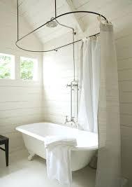 clawfoot bathtub shower decoration clawfoot bathtub shower curtain rod clawfoot bath