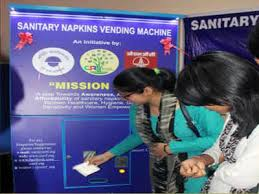Problems With Vending Machines At School Extraordinary Sanitary Napkin Vending Machines Installed At Schools Jaipur News
