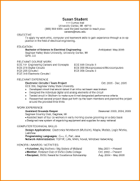 sample resume for ece engineering students starengineering