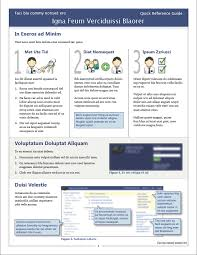 How To Make A Quick Reference Guide Reference Guide Templates Under Fontanacountryinn Com