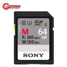 Thẻ nhớ Sony 64GB 260 MB/s M Series UHS-II SDXC (U3) - Giang Duy Đạt