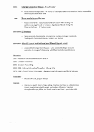 Attractive Resume Language Skills Section Examples Gift
