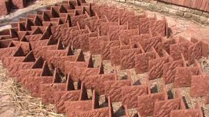 bake clay roof tiles making process handmade clay tiles manufacturer