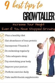 How To Become Taller How To Get Tall How To Grow Taller