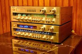 vintage sony receiver. \ vintage sony receiver