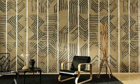 Elitis Zig Zag Behang Paneel Panoramique Collectie Luxury By Nature