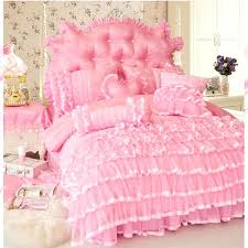 frilly bedding bed linen beige ruffle comforter ruffle bedding shabby chic princess style cake layers bedding frilly bedding