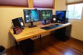 computer desk images. Perfect Desk Save Hundreds Of Dollars On A Custom Computer Desku2014by Building It Yourself To Computer Desk Images A