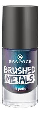 Купить <b>лак для ногтей Brushed</b> Metals Nail Polish 8мл essence в ...