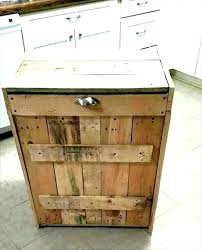 double trash can double trash bins wooden trash can with lid double wooden trash bin wood