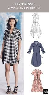 Clothing Sewing Patterns Beauteous The Dress Style You Need To Sew Now Plus Tips Shirtdress