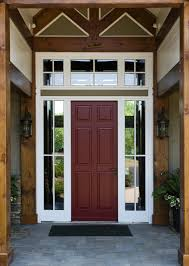 Exterior Front Doors With Sidelights And Transom • Exterior Doors ...