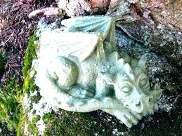 welsh dragon garden statues yard art statue concrete dragons meval monster large cement decor dragonfly for garden dragon statues