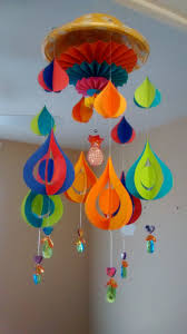 Homemade Wind Chimes Art And Craft Diy Paper Wind Chime Youtube