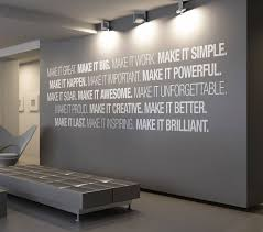 creative office wall art. Simple Office Office Wall Decor Ideas 27 Best Art Quotes Images On Pinterest Throughout Creative F