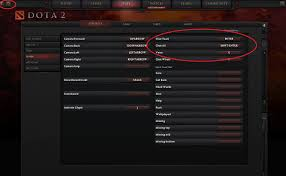 where can i find the default controls for dota 2 arqade