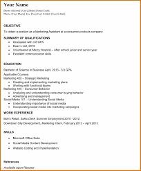 Recent Graduate Resume Resume Template For Recent College Graduate RESUME 29