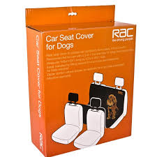rac advanced advanced rear car seat cover for dogs
