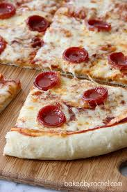 perfect pepperoni pizza slice. Exellent Slice Perfect Pepperoni Pizza Recipe From Bakedbyrachelcom With Slice Baked By Rachel