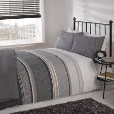 silver double bedding sets design ideas