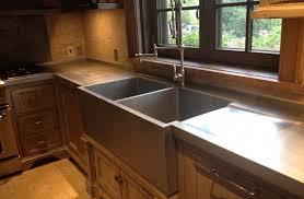 d shaped sink
