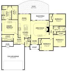 furniture amazing 4 bedroom ranch house plans 22 house plans ranch homes bedroom