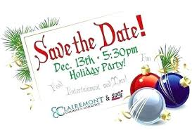 Christmas Party Save The Date Templates Christmas Party Save The Date Template Highendflavors Co