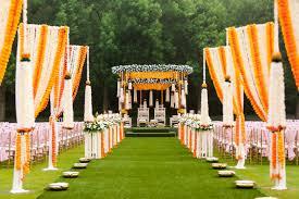 Indian Marriage Lawn Design Wedding Floral Event Decor Luxury Wedding Design
