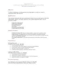 Resume Examples For Hostess Sample Restaurant Resumes
