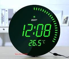 large digital wall clock uk wall clock battery operated large digital wall clock battery operated with large digital wall clock uk