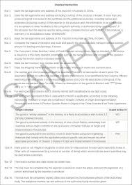 Letter Of Origin Guide To Using Chafta To Export Or Import Department Of Foreign