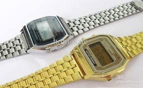 gold silver ca159 watches men sport digital led change gold silver ca159 watches men sport digital led change photoelectron women fashion children candy